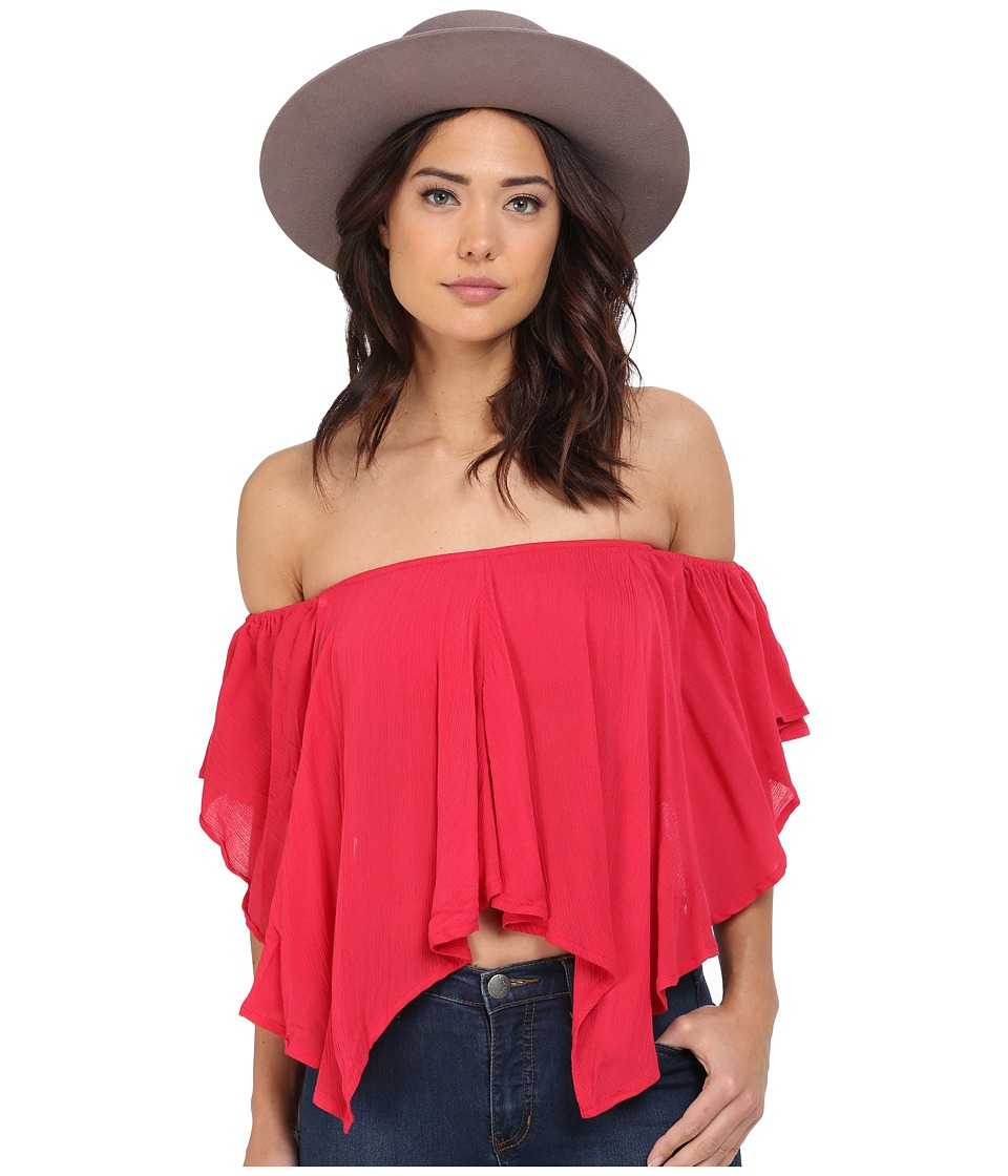 Free People - Merpati Top (Poppy) Women's Clothing