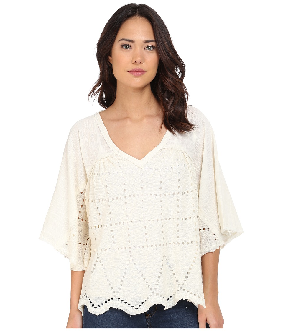 Free People - Summer Lovin Pullover (Cream) Women's Long Sleeve Pullover