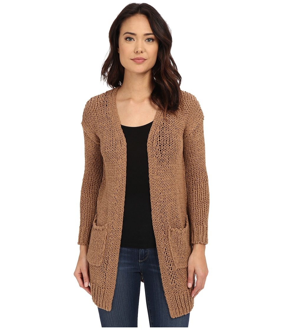 Free People - Sienna Cardigan (Acorn Combo) Women's Sweater