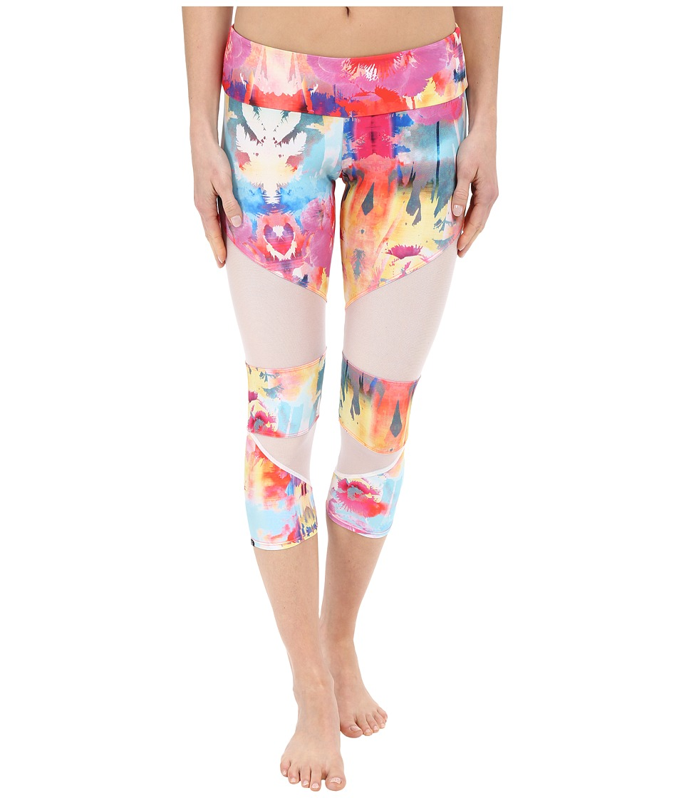 Onzie - Hawaiian Tropic Cut Out Capris (Hawaiian Tropic) Women's Capri