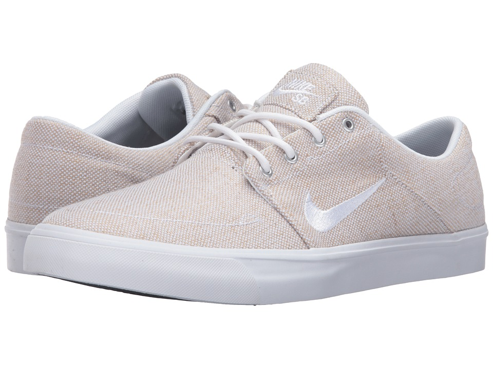 Nike SB Portmore Canvas Premium (White/White/Black) Men
