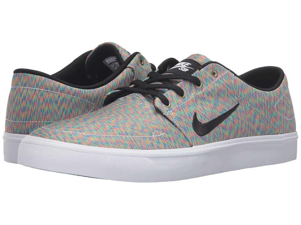 Nike SB Portmore Canvas Premium (Multicolor/Black/White) Men