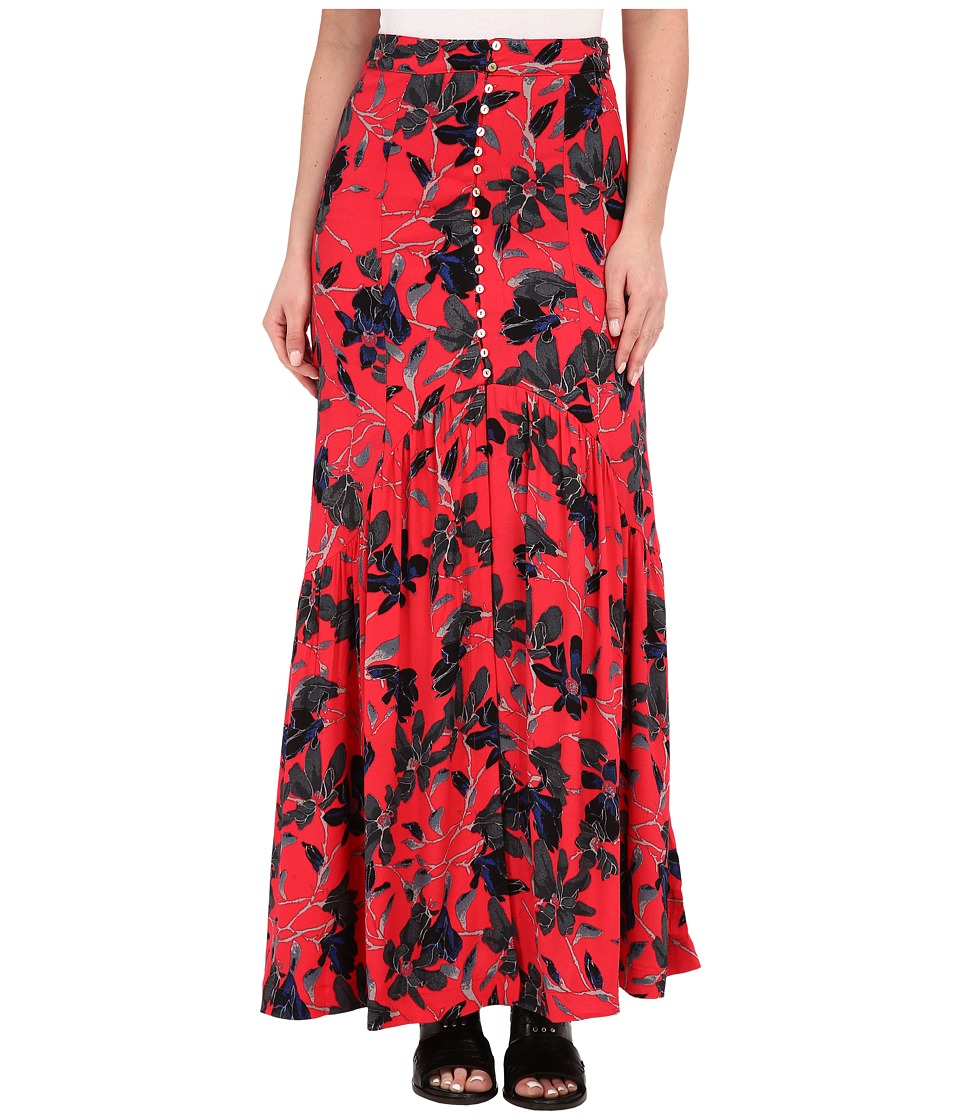 Free People - Smooth Sailing Maxi Dress (Pimento Combo) Women's Dress