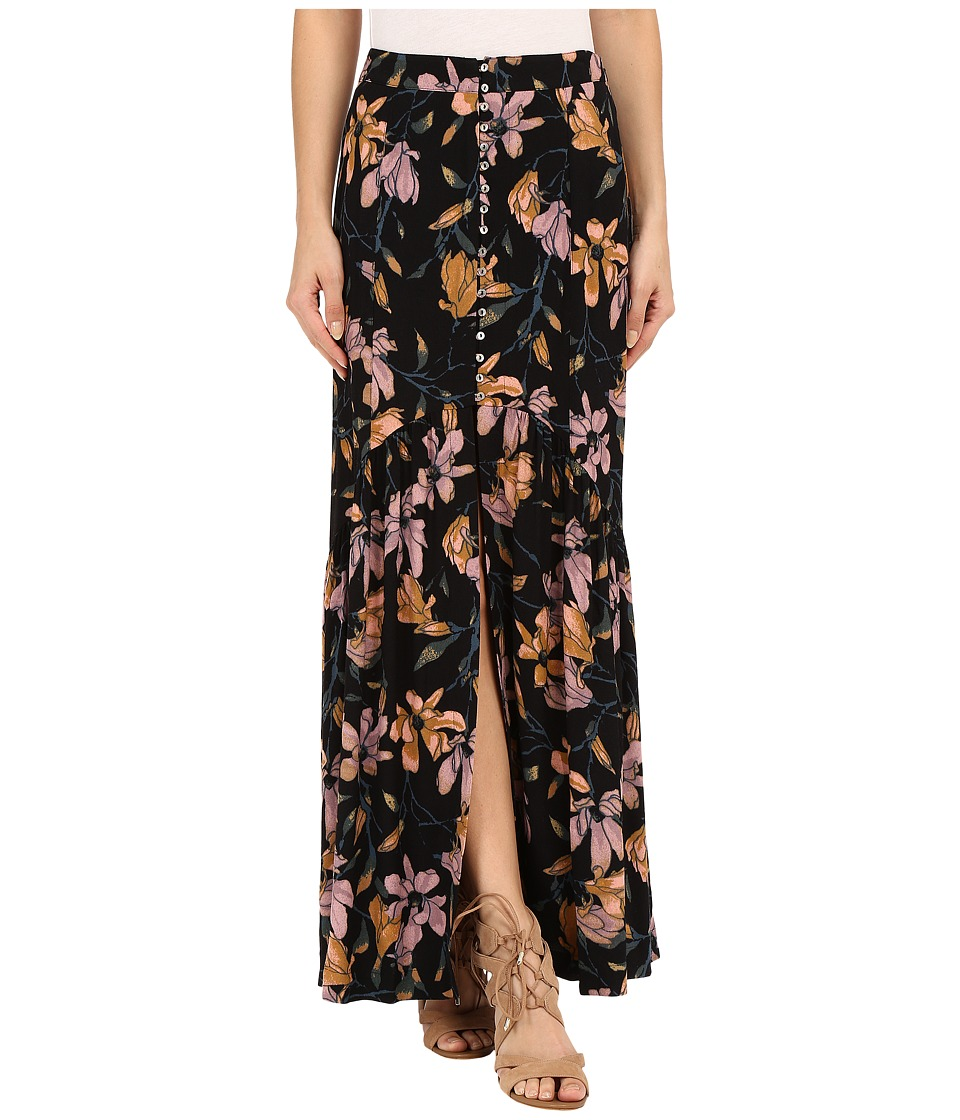 Free People - Smooth Sailing Maxi Dress (Onyx Combo) Women's Dress