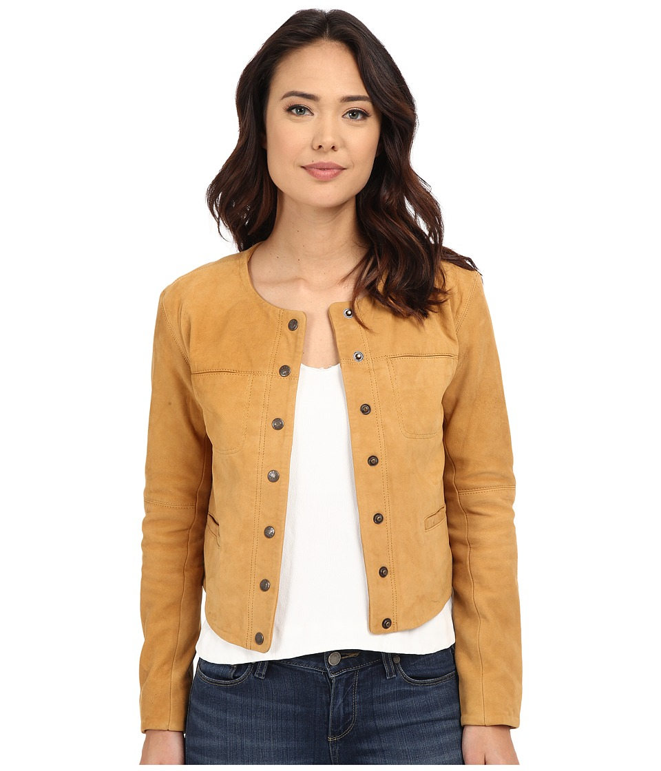 Free People - Cool Suede Jacket (Golden Haze) Women's Coat