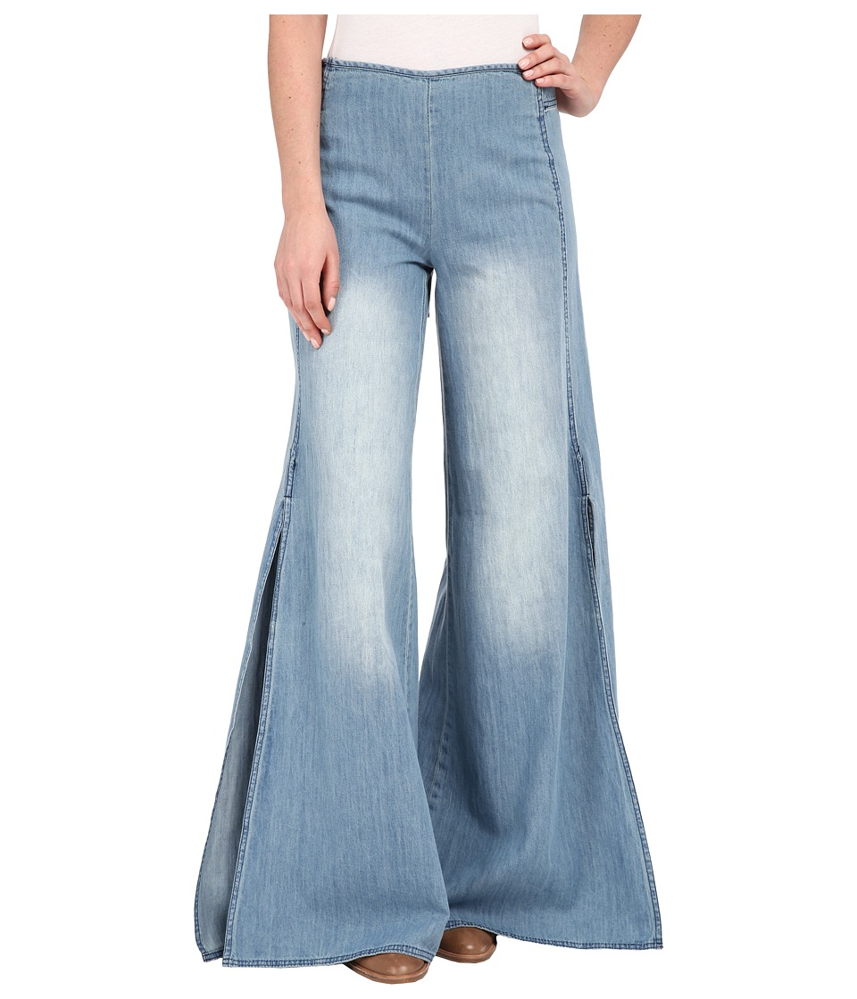 Free People - Ramona Apron Pants (Back in Town Blue) Women's Casual Pants