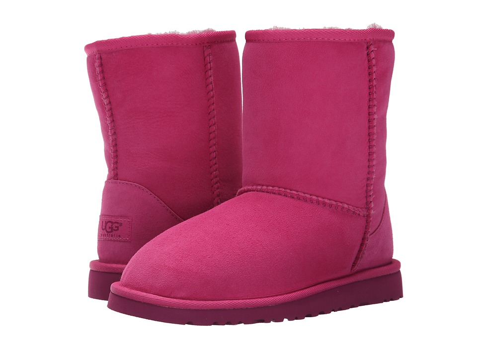 UGG Kids - Classic (Big Kid) (Furious Fuchsia Twinface) Kids Shoes