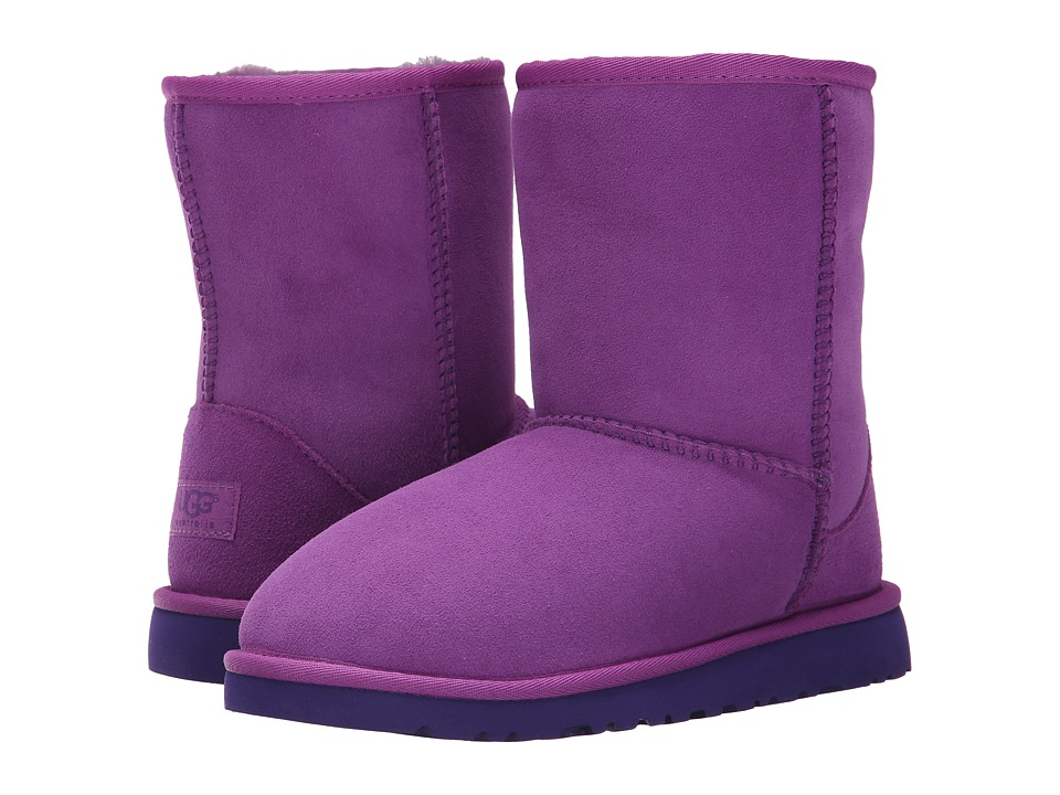 UGG Kids - Classic (Big Kid) (Crazy Plum Twinface) Kids Shoes
