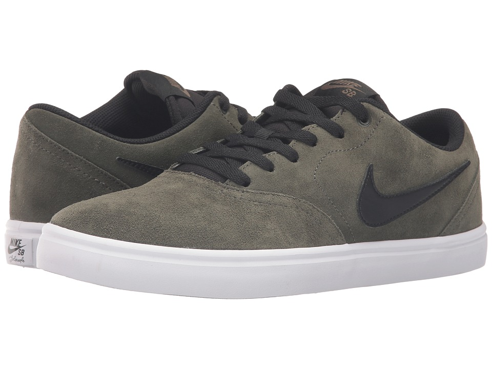 Nike SB - Check Solar (Cargo Khaki/Black) Men's Skate Shoes