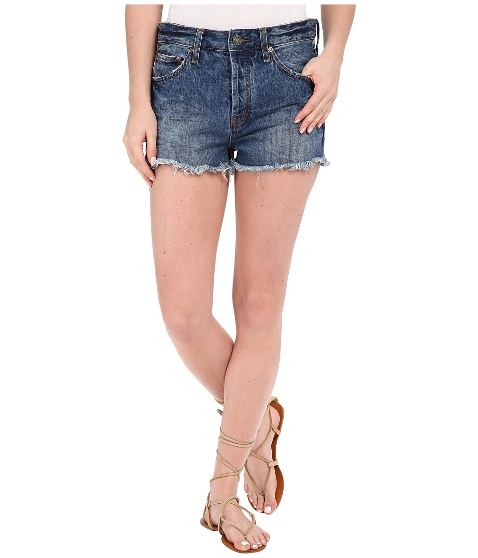 Free People - Rock Denim Shorts (Harbor) Women's Shorts