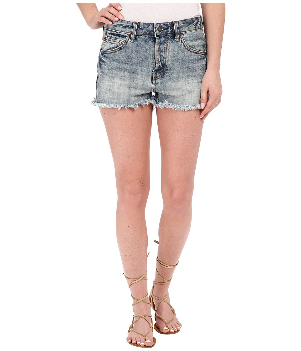 Free People - Rock Denim Shorts (Camp) Women's Shorts
