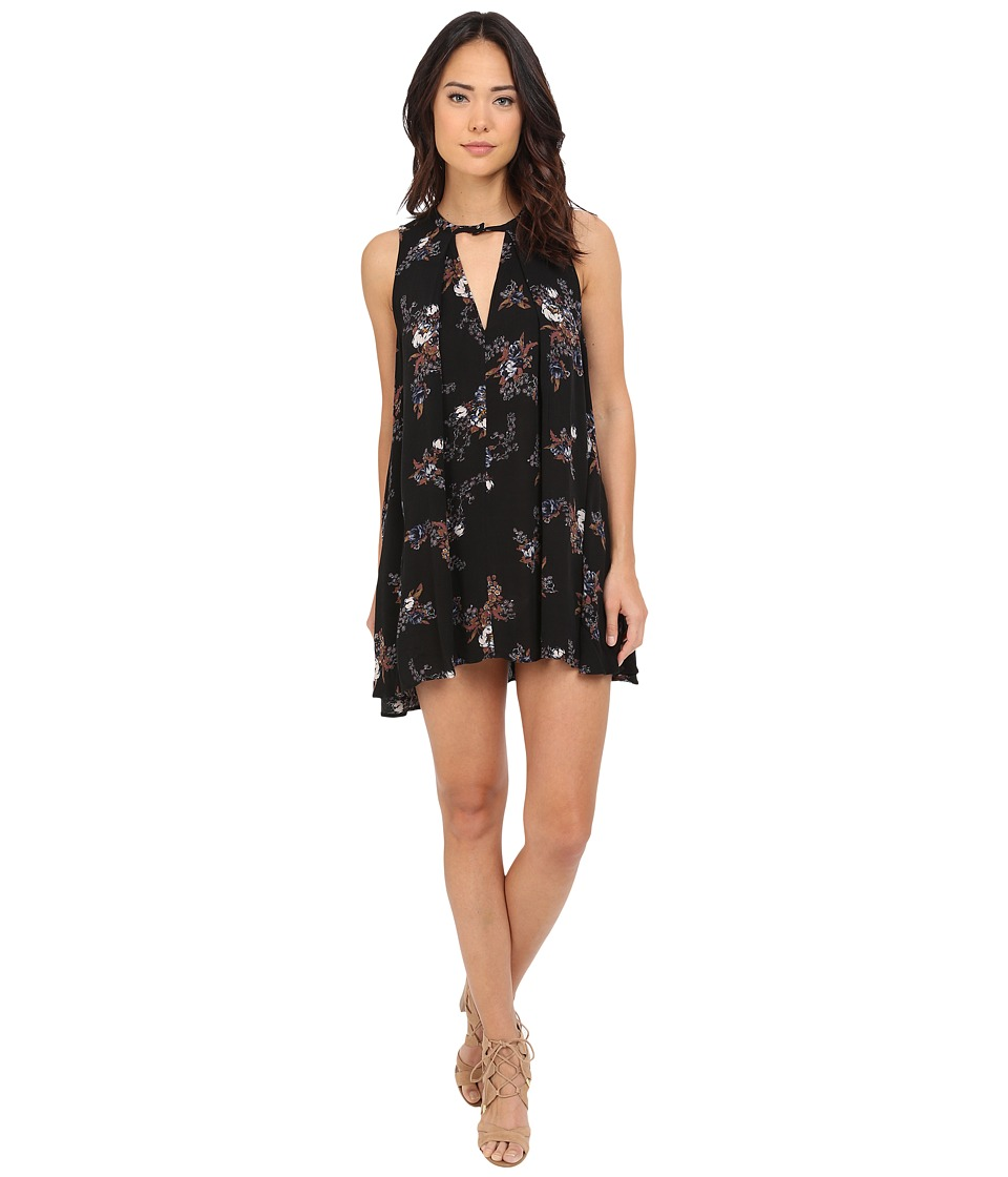 Free People - Tree Swing Dress (Black Combo) Women's Dress
