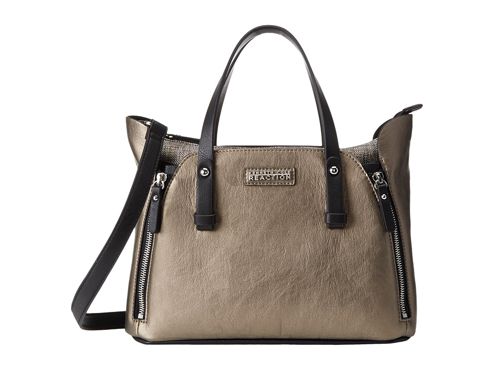 Kenneth Cole Reaction - Hardcore Satchel (Cocoa Muave) Satchel Handbags