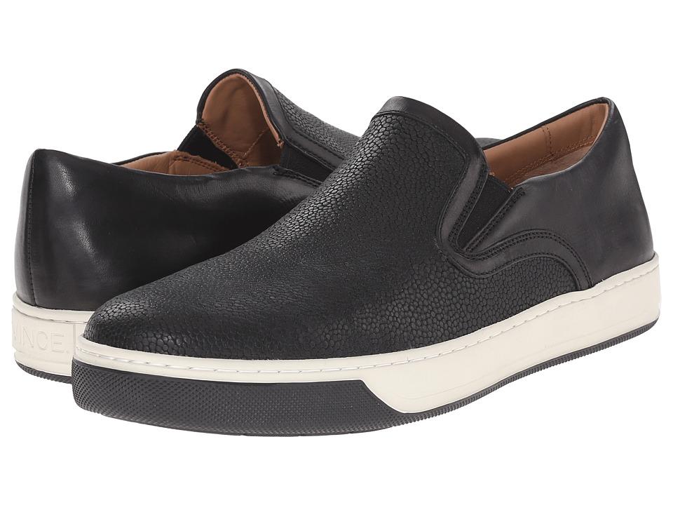 Vince - Anderson (Black) Men's Slip-on Dress Shoes