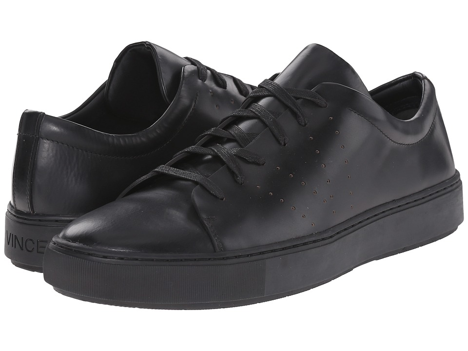Vince - Luke (Black) Men's Lace up casual Shoes