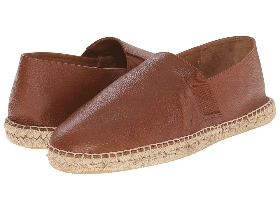 Vince - Tucker (Luggage) Men's Slip on Shoes