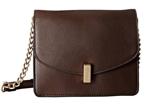 Kenneth Cole Reaction - Winged Victory Crossbody (Chocolate) Cross Body Handbags
