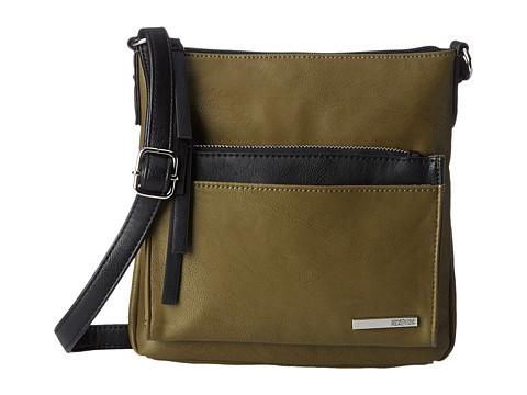 Kenneth Cole Reaction - Foldover Crossbody (Cadet Olive) Cross Body Handbags
