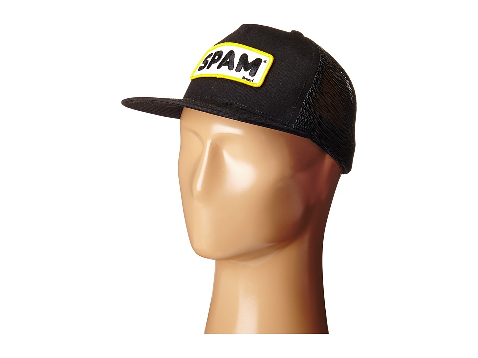 HUF - Spam Trucker (Black) Caps