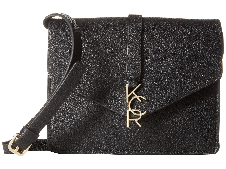 Kenneth Cole Reaction - Letterman Crossbody (Black) Cross Body Handbags