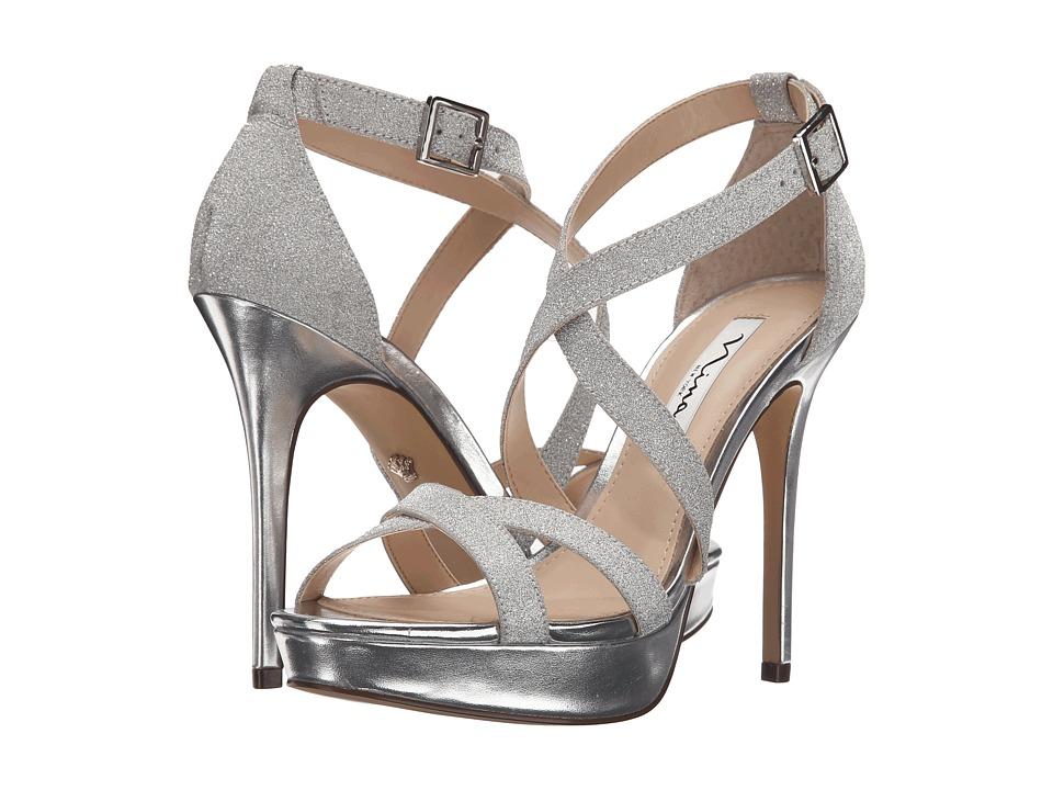 Nina - Sevilla (Silver) High Heels
