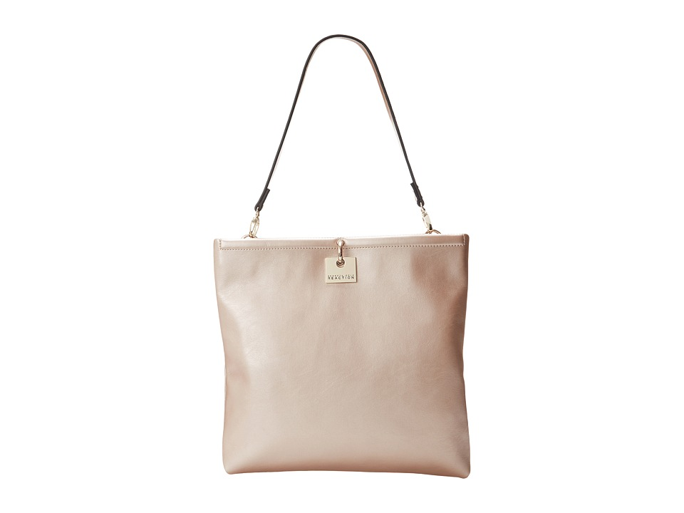 Kenneth Cole Reaction - Ford Digger Tote/Clutch (Metallic Blush) Tote Handbags