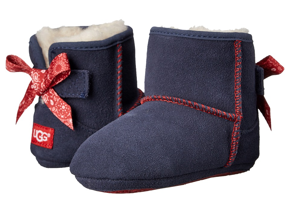 UGG Kids - Jesse Bow Bandana (Infant/Toddler) (Indigo Suede) Girls Shoes