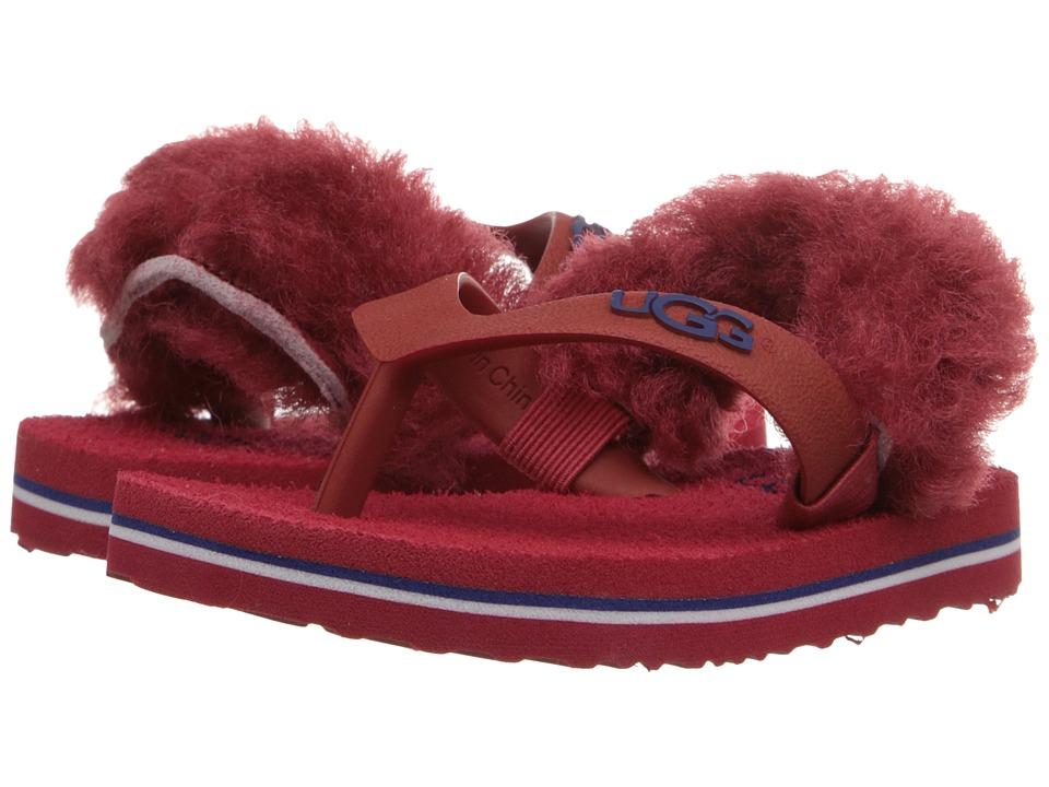 UGG Kids - Yia Yia II (Infant/Toddler) (Matador Red Sheepskin) Girl's Shoes