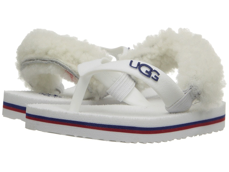 UGG Kids - Yia Yia II (Infant/Toddler) (White Wall Sheepskin) Girl's Shoes