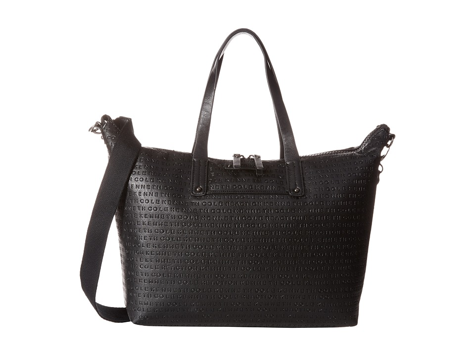 Kenneth Cole Reaction - Mars Mono Shopper (Black) Handbags