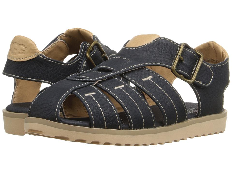 UGG Kids - Danial (Toddler/Little Kid) (Racing Stripe Blue) Kids Shoes