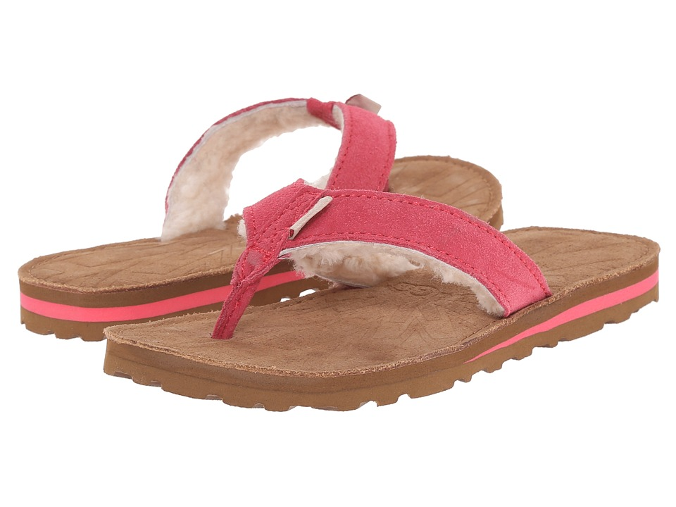 UGG Kids - Tasmina (Toddler/Little Kid/Big Kid) (Sunset Red Suede) Kid's Shoes