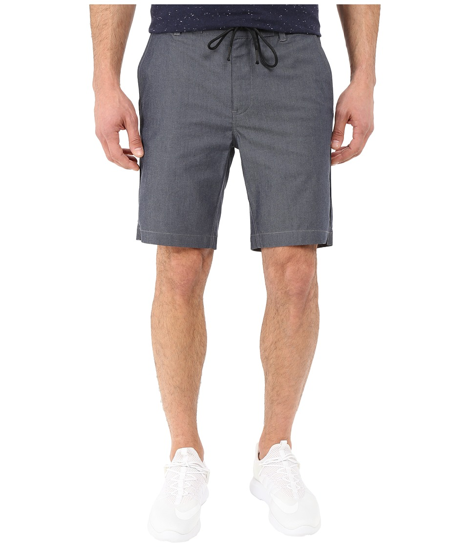 Kenneth Cole Sportswear - Chambray Drawstring Short (Indigo) Men's Shorts