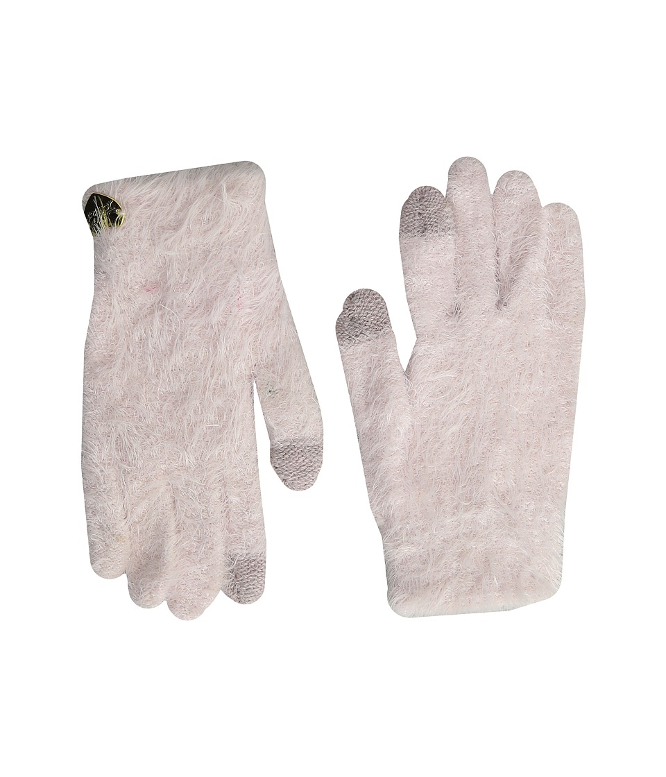 Betsey Johnson - Do Me a Solid Soft I Touch Gloves (Petal) Extreme Cold Weather Gloves