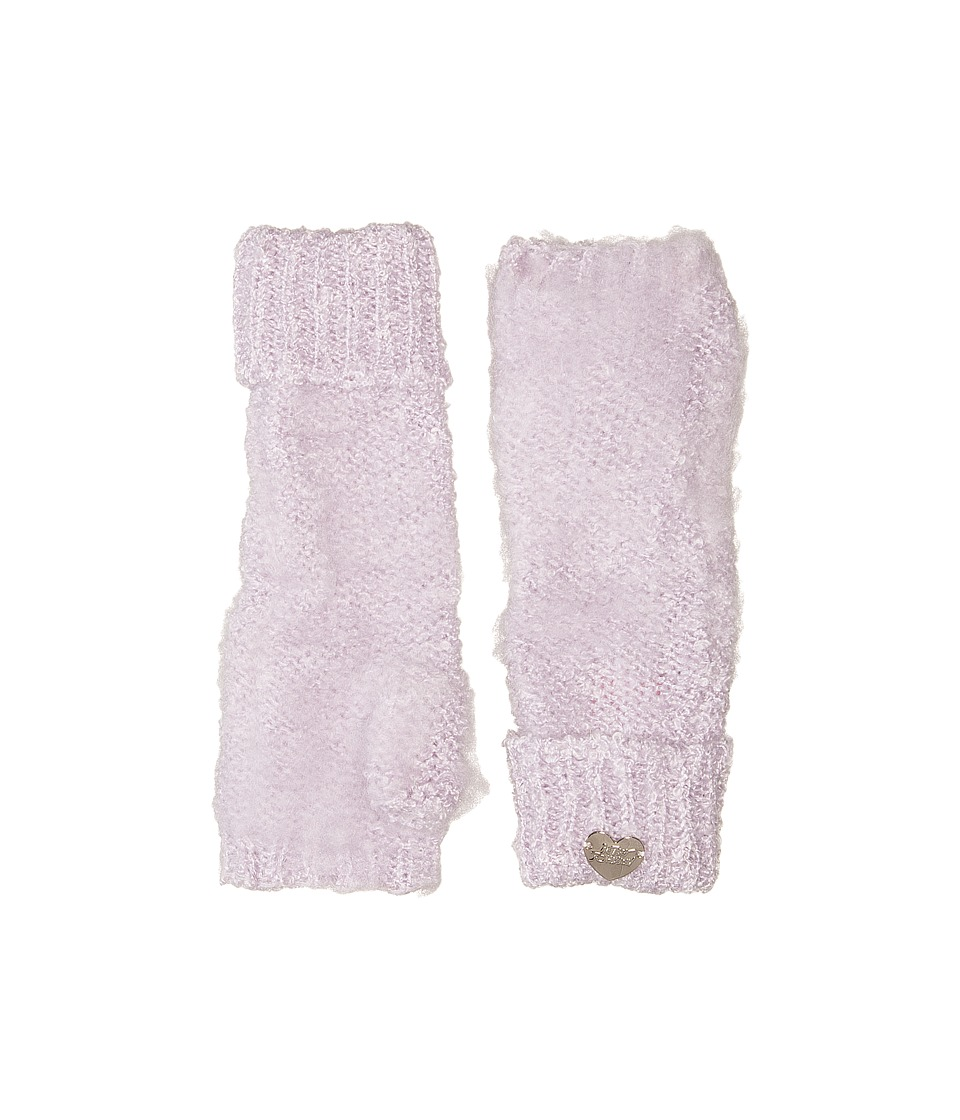 Betsey Johnson - Fuzzy Logic Arm Warmer (Lavender) Dress Gloves