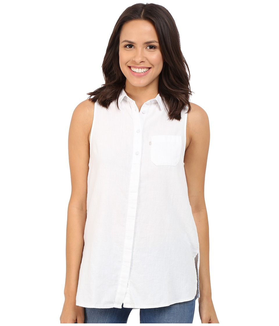 Levi's(r) Womens - SL Joni Shirt (Bright White) Women's Clothing