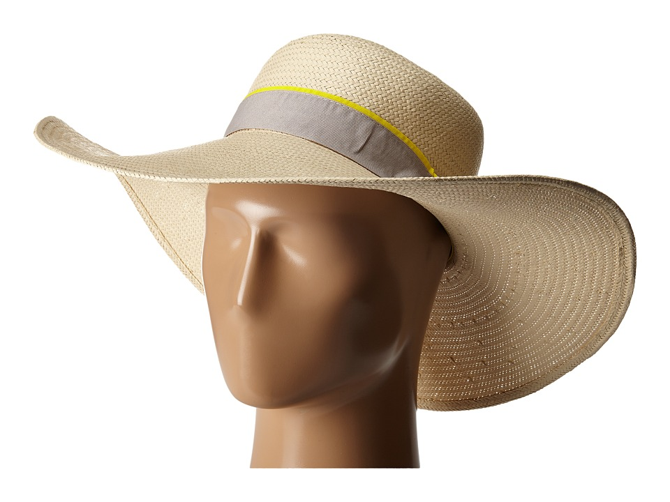 Michael Stars - Made in the Shade Floppy Hat (Chalk) Caps