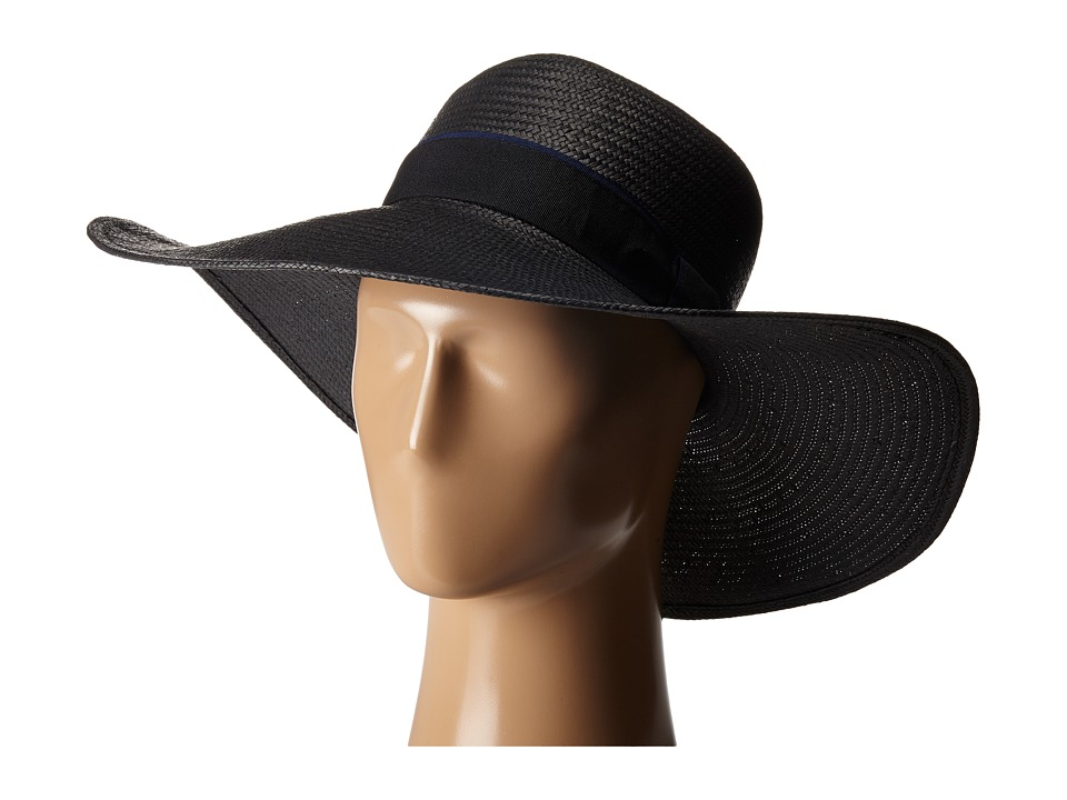 Michael Stars - Made in the Shade Floppy Hat (Black) Caps