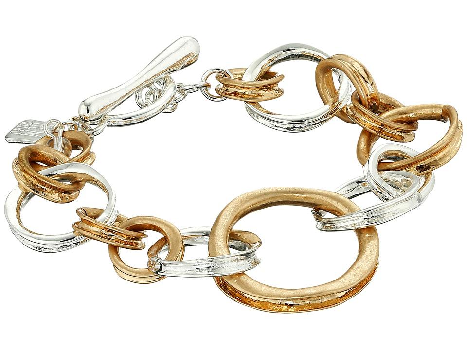 Robert Lee Morris - Two-Tone Link Bracelet (Two-Tone) Bracelet