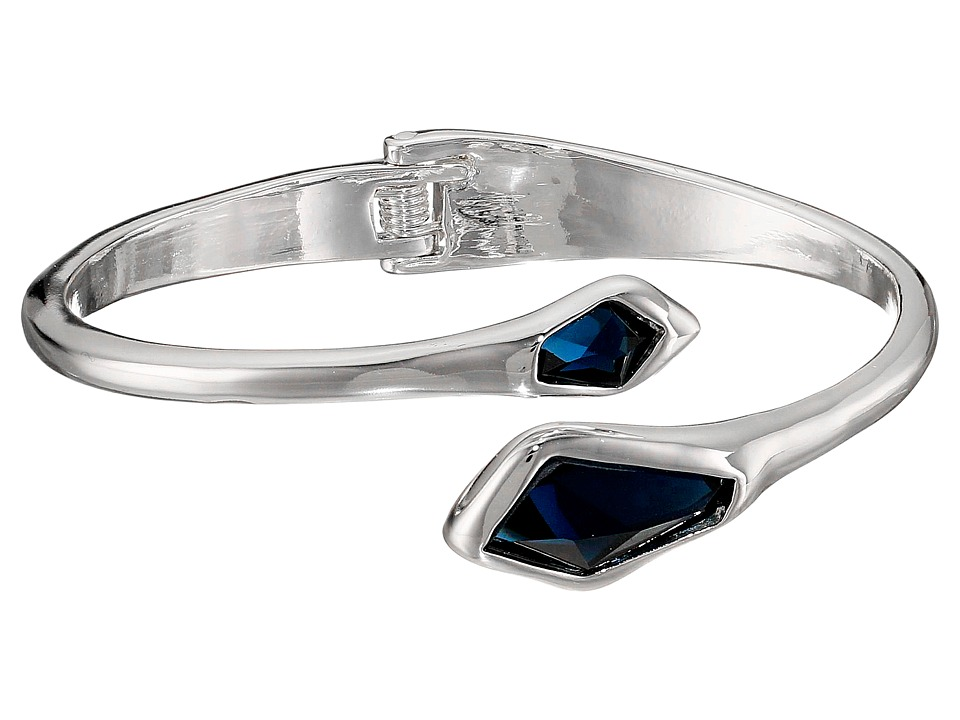 Robert Lee Morris - Blue Stone Hinge Bangle Bracelet (Blue) Bracelet