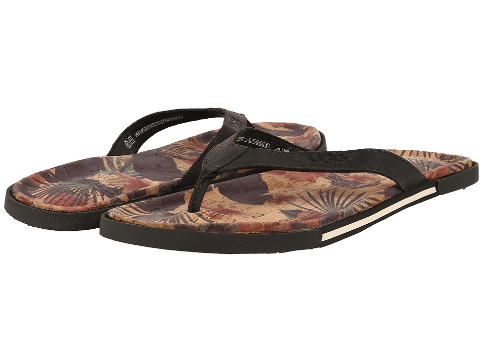 UGG - Bennison II Hawaiian Cork (Asphalt Nubuck) Men's Sandals