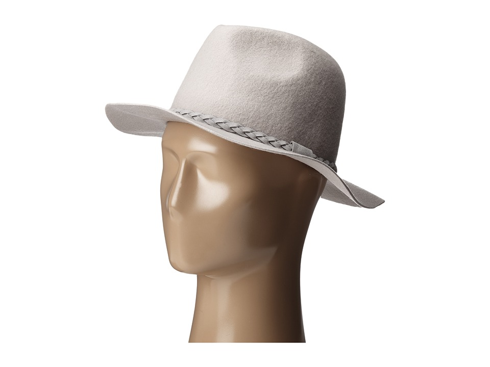 Michael Stars - Shes Twisted Fedora (Oyster) Fedora Hats