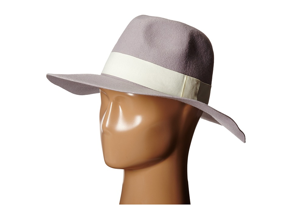 Michael Stars - Downtown Wide Brim Fedora (Oyster) Fedora Hats