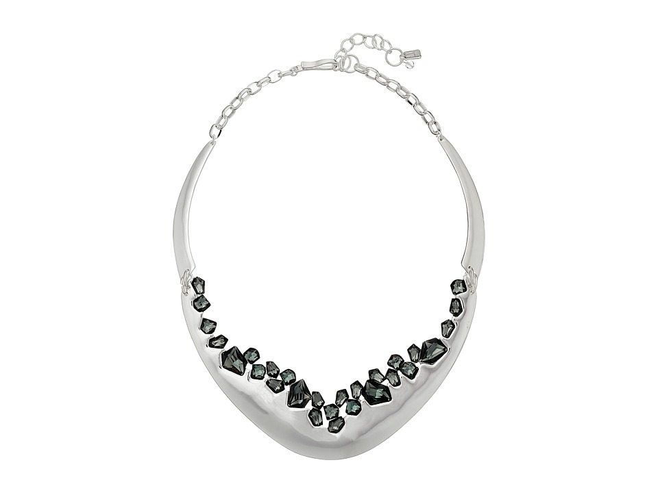 Robert Lee Morris - Black Diamond Stone Collar Necklace (Black Diamond) Necklace