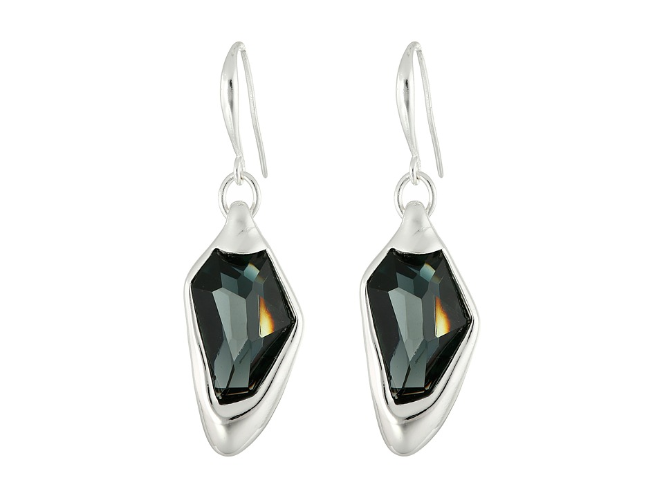 Robert Lee Morris - Stone Drop Earrings (Black Diamond) Earring