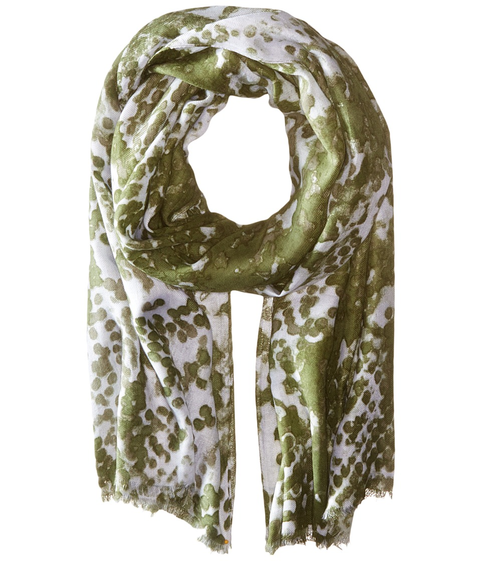 Michael Stars - Dotted Python Scarf (Olive Moss) Scarves