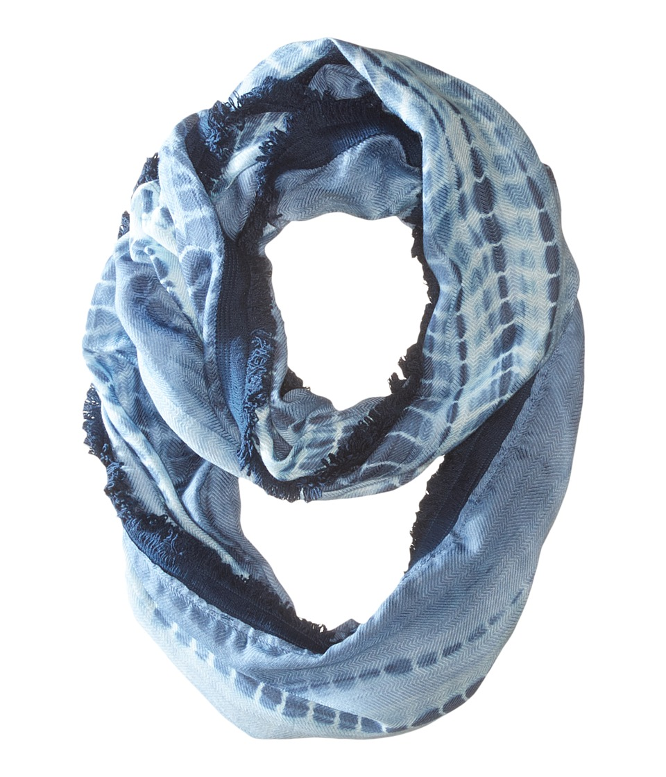 Michael Stars - Feather Fringe Eternity Scarf (Nocturnal) Scarves