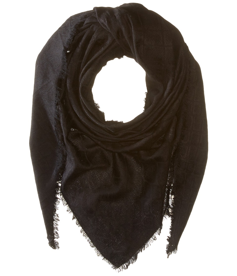 Michael Stars - Snake Tracks Triangle Scarf (Black) Scarves