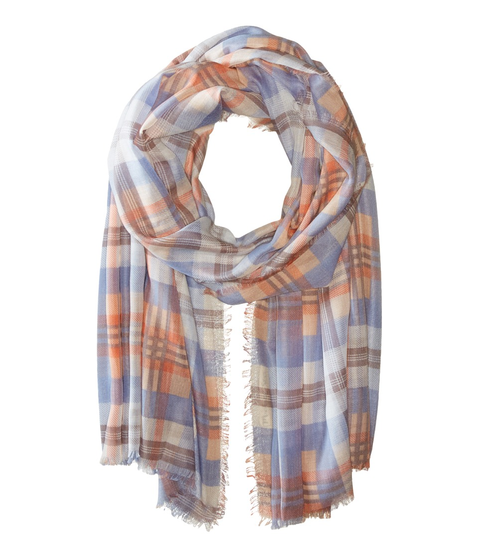 Michael Stars - Morning Side Plaid Wrap (Bikini) Scarves