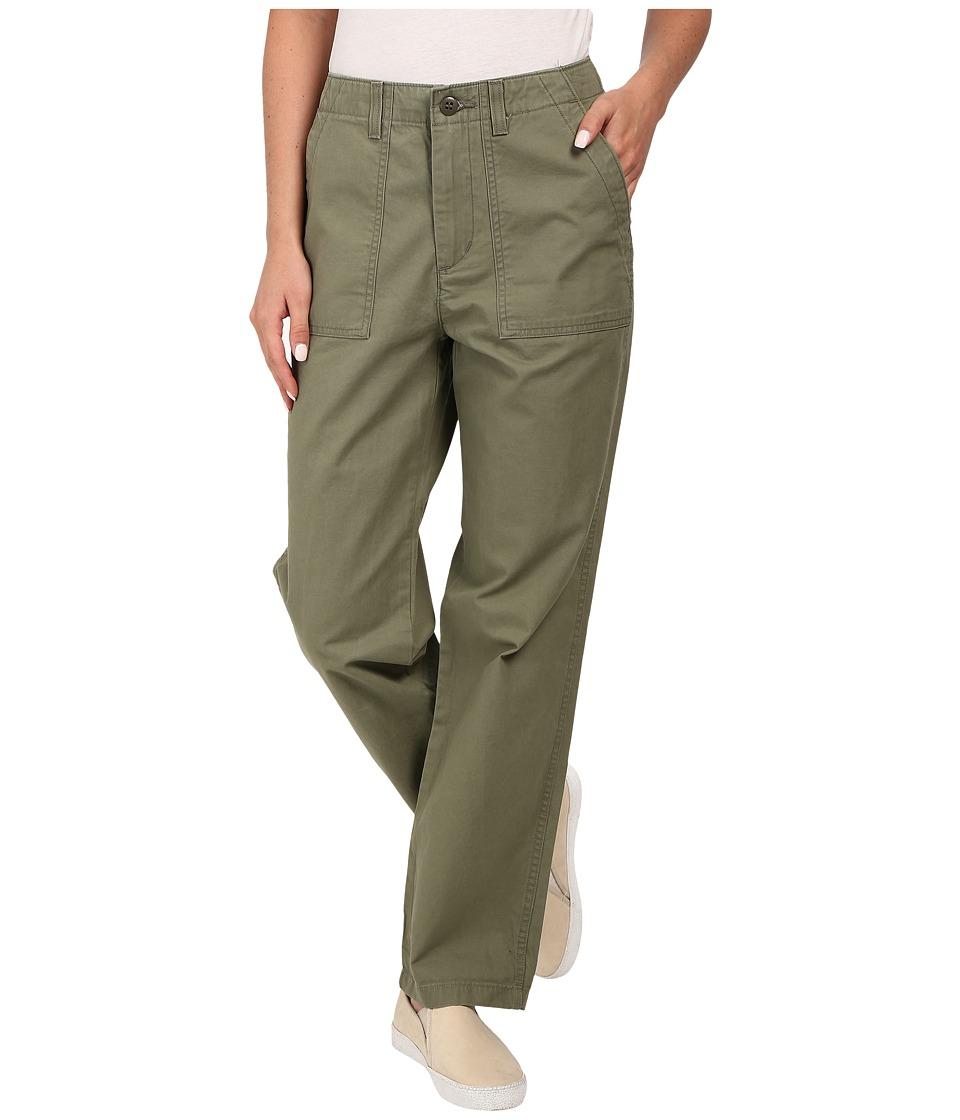 Levi's(r) Womens - Utility Chino (Hazy Deep Lichen Green) Women's Casual Pants